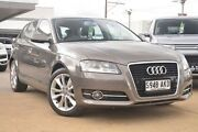 2010 Audi A3 8P MY11 TFSI Sportback S tronic Ambition Grey 7 Speed Sports Automatic Dual Clutch Hillcrest Port Adelaide Area Preview