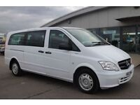 MERCEDES-BENZ VITO 2.1 113 CDI TRAVELINER 5d 136 BHP - VIEW 360 SPIN (white) 2012