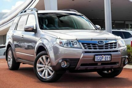 2011 Subaru Forester S3 MY11 XS AWD Columbia Silver 4 Speed Sports Automatic Wagon Wangara Wanneroo Area Preview