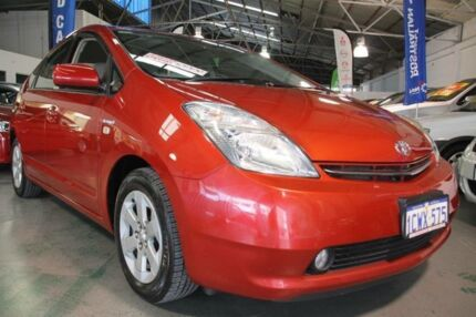 2008 Toyota Prius NHW20R MY06 Upgrade I-Tech Hybrid Red Mica Metallic Continuous Variable Hatchback