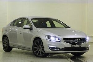 2016 Volvo S60 F MY16 T5 Luxury Bright Silver 8 Speed Automatic Sedan Dee Why Manly Area Preview