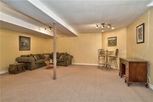 Spacious Ground level Basement Apartment for Rent in Meadowvale