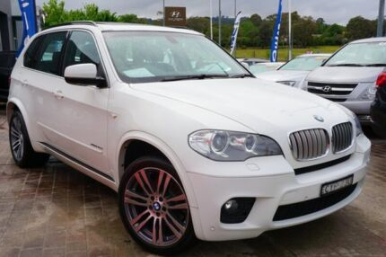 2013 BMW X5 E70 MY1112 xDrive40d Steptronic Sport White 8 Speed Sports Automatic Wagon Pearce Woden Valley Preview