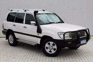 2003 Toyota Landcruiser White Automatic Wagon Embleton Bayswater Area Preview