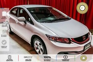 2015 Honda Civic LX ECO MODE! HEATED SEATS! BLUETOOTH!