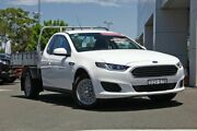 2016 Ford Falcon FG X Super Cab White 6 Speed Sports Automatic Cab Chassis Kirrawee Sutherland Area Preview