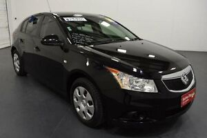 2012 Holden Cruze JH MY13 CD Black 6 Speed Automatic Hatchback Moorabbin Kingston Area Preview