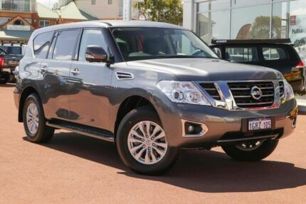 2018 Nissan Patrol Y62 Series 4 TI-L Grey 7 Speed Sports Automatic Wagon Clarkson Wanneroo Area Preview