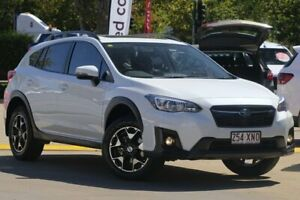 2017 Subaru XV G5X MY18 2.0i Premium Lineartronic AWD White 7 Speed Constant Variable Wagon