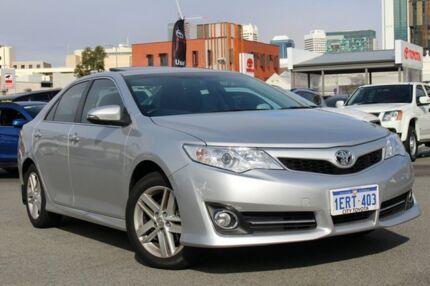 2014 Toyota Camry ASV50R Atara SL Silver Pearl 6 Speed Sports Automatic Sedan Northbridge Perth City Preview