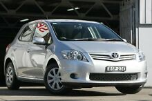 2010 Toyota Corolla ZRE152R MY10 Ascent Silver 6 Speed Manual Hatchback Mosman Mosman Area Preview
