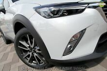 2015 Mazda CX-3 DK4W7A sTouring SKYACTIV-Drive AWD White 6 Speed Sports Automatic Wagon Wilson Canning Area Preview