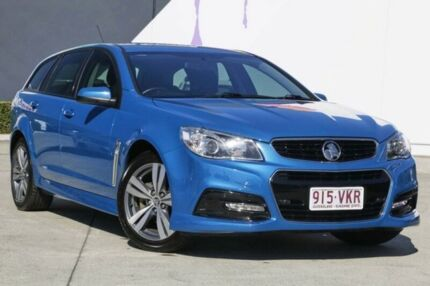 2014 Holden Commodore VF MY14 SV6 Sportwagon Blue 6 Speed Sports Automatic Wagon