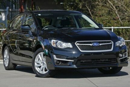 2015 Subaru Impreza G4 MY15 2.0i Lineartronic AWD Black 6 Speed Constant Variable Hatchback Capalaba West Brisbane South East Preview
