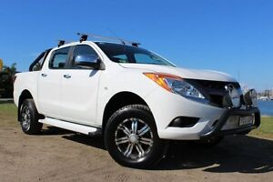 2013 Mazda BT-50 UP0YF1 GT White 6 Speed Sports Automatic Utility Hamilton East Newcastle Area Preview
