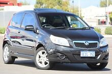 2009 Holden Barina TK MY10 Black 5 Speed Manual Hatchback Clarkson Wanneroo Area Preview