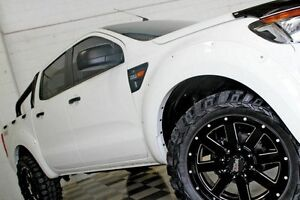 2012 Ford Ranger PX XL 2.2 (4x4) White 6 Speed Manual Crew Cab Utility Burleigh Heads Gold Coast South Preview