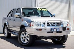 2012 Nissan Navara D22 S5 ST-R Silver 5 Speed Manual Utility Osborne Park Stirling Area Preview