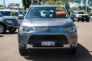 2015 Mitsubishi Outlander ZJ MY14.5 ES 2WD Grey 6 Speed Constant Variable Wagon Cannington Canning Area Preview