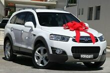 2012 Holden Captiva CG Series II MY12 White 6 Speed Sports Automatic Wagon Pennant Hills Hornsby Area Preview