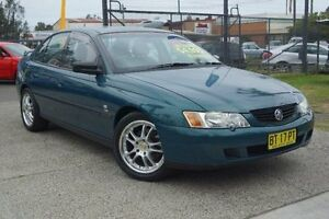 2004 Holden Commodore VY II Equipe Green 4 Speed Automatic Sedan Oak Flats Shellharbour Area Preview