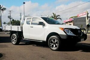 2012 Mazda BT-50 UP0YF1 XT Freestyle White 6 Speed Manual Cab Chassis Gympie Gympie Area Preview