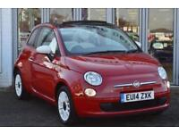 2014 FIAT 500C CONVERTIBLE 1.2 Colour Therapy 2dr