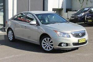 2012 Holden Cruze JH Series II MY12 CDX Gold 6 Speed Sports Automatic Sedan Wolli Creek Rockdale Area Preview