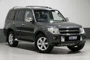 2011 Mitsubishi Pajero NT MY11 Series II RX (4x4) Grey 5 Speed Auto Sports Mode Wagon Bentley Canning Area Preview