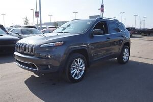2015 Jeep Cherokee 4X4 LIMITED Navigation (GPS),  Leather,  Heat