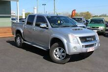 2010 Isuzu D-MAX MY10 LS High Ride Silver 5 Speed Manual Utility Tingalpa Brisbane South East Preview