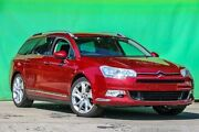 2009 Citroen C5 X7 Exclusive Tourer HDi Burgundy 6 Speed Sports Automatic Wagon Ringwood East Maroondah Area Preview