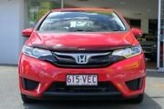 2014 Honda Jazz GF MY15 VTi Red 5 Speed Manual Hatchback Woolloongabba Brisbane South West Preview