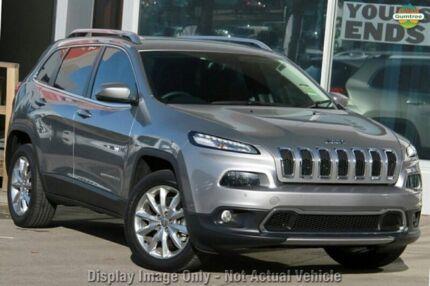 2015 Jeep Cherokee KL MY15 Limited Billet Silver 9 Speed Auto Seq Sportshift Wagon Blacktown Blacktown Area Preview
