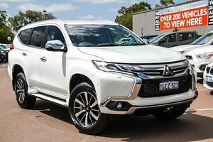 2016 Mitsubishi Pajero Sport QE MY16 Exceed White 8 Speed Sports Automatic Wagon Wilson Canning Area Preview