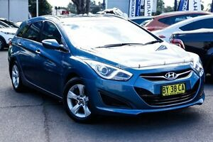 2013 Hyundai i40 VF2 Active Tourer Blue 6 Speed Sports Automatic Wagon Kings Park Blacktown Area Preview