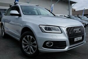 2013 Audi Q5 8R MY13 TDI S tronic quattro Silver 7 Speed Sports Automatic Dual Clutch Wagon Pearce Woden Valley Preview