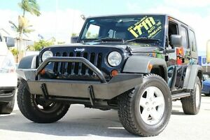 2008 Jeep Wrangler JK MY2008 Unlimited Sport Black 4 Speed Automatic Softtop Greenslopes Brisbane South West Preview