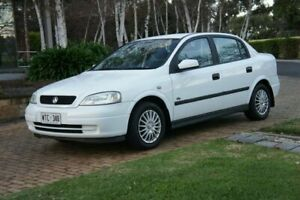 2002 Holden Astra TS City White 4 Speed Automatic Sedan Blair Athol Port Adelaide Area Preview