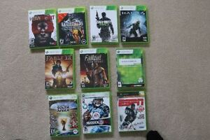 9 Xbox 360 Games For Sale