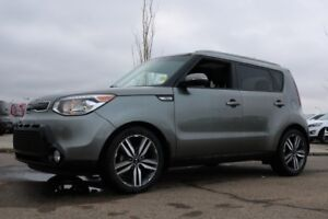 2015 Kia Soul SX LUXURY Navigation (GPS),  Leather,  Heated Seat
