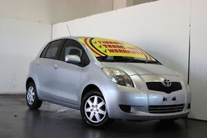 2005 Toyota Yaris NCP90R YR Silver 5 Speed Manual Hatchback Underwood Logan Area Preview