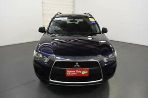 2012 Mitsubishi Outlander ZH MY12 LS Blue 6 Speed CVT Auto Sequential Wagon Moorabbin Kingston Area Preview
