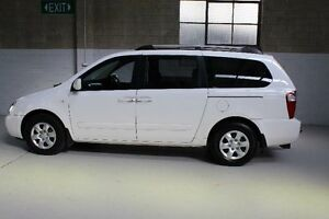 2008 Kia Grand Carnival VQ EX White Sports Automatic Wagon Knoxfield Knox Area Preview