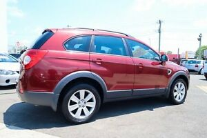 2006 Holden Captiva CG 7 SEATER + LOW KLMS Maroon Automatic Wagon Underwood Logan Area Preview