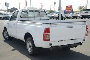 2012 Toyota Hilux GGN15R MY12 SR Glacier White 5 Speed Automatic Utility Acacia Ridge Brisbane South West Preview