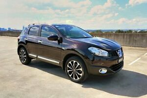 2013 Nissan Dualis J10W Series 4 MY13 Ti-L Hatch X-tronic 2WD Burgundy 6 Speed Constant Variable Haymarket Inner Sydney Preview