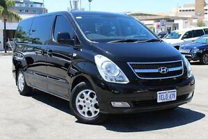 2013 Hyundai iMAX TQ-W MY13 Black 5 Speed Automatic Wagon Northbridge Perth City Area Preview
