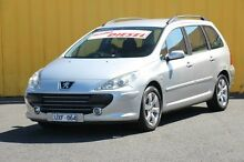 2007 Peugeot 307 T6 XS HDI Touring Silver 5 Speed Manual Wagon Heatherton Kingston Area Preview