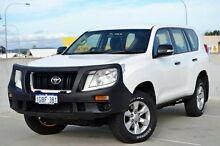 2012 Toyota Landcruiser Prado KDJ150R GX White 5 Speed Sports Automatic Wagon Midland Swan Area Preview